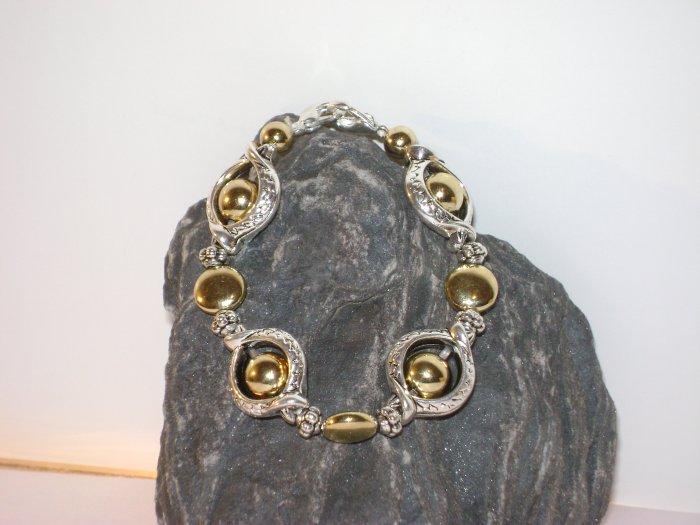 Silver & Gold Medical I.D. Alert Replacement Bracelet