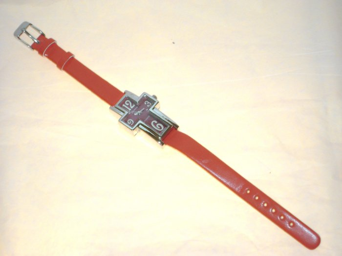 Cross Watch Red