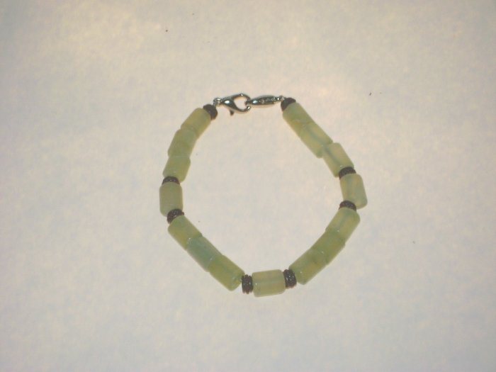 Medical Alert Replacement Bracelet Jade & Copper