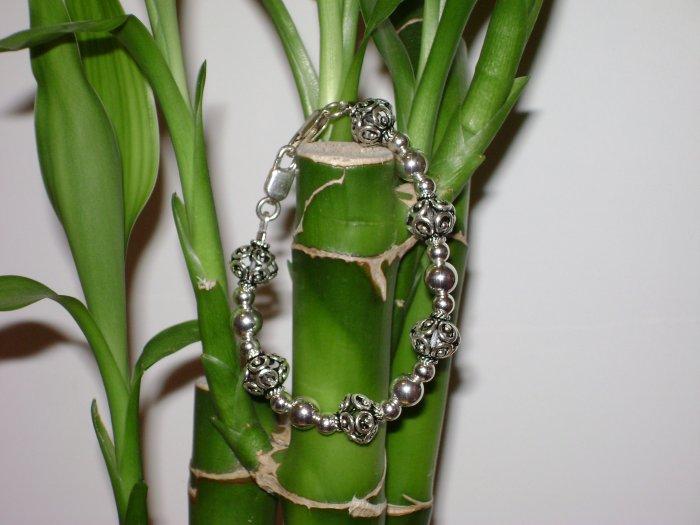 Sterling Silver Medical Alert I. D. Replacement Bracelet
