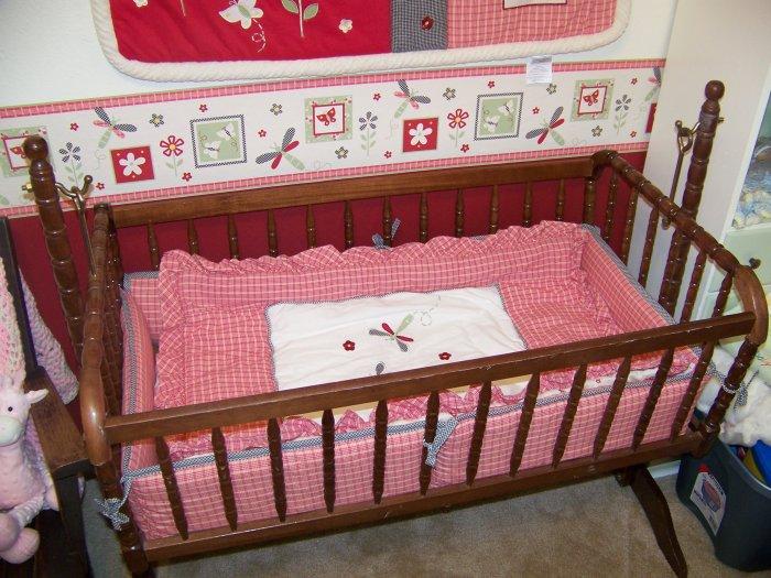 Lambs & Ivy Secret Garden Cradle Set