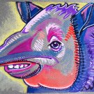 """Happy Tapir"" Watercolor Painting Print"