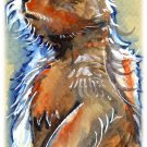 """Prairie Dog"" Watercolor Painting Print"