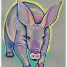 """Aardvark"" Watercolor Painting Print"