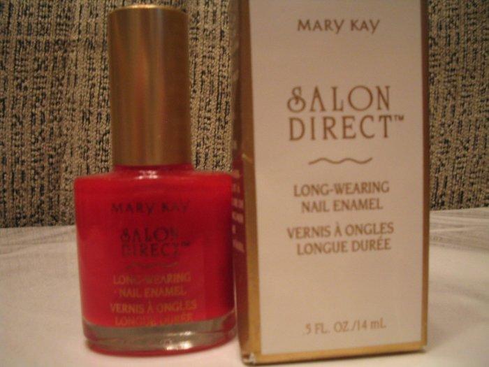 Salon Direct Long Wearing Nail Polish Ravishing Red MARY KAY **JUST REDUCED HALF PRICE**