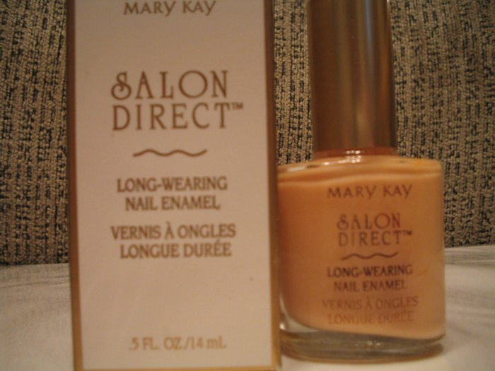 Salon Direct Long Wearing Nail Polish French Vanilla MARY KAY **JUST REDUCED HALF PRICE**