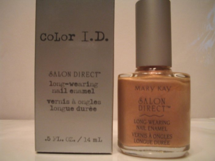 Color I.D. Long Wearing Nail Polish SHY MARY KAY **JUST REDUCED HALF PRICE**