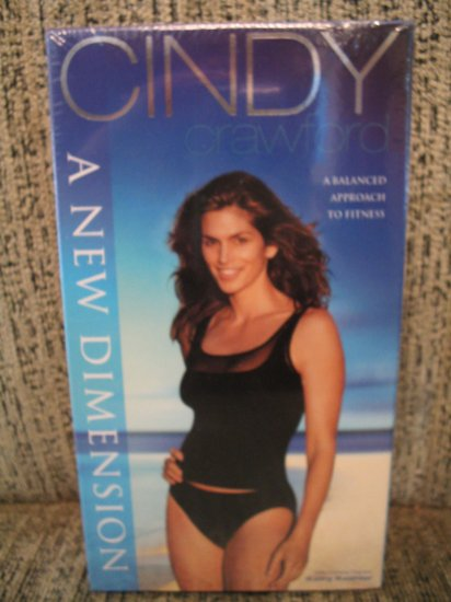 Cindy Crawford exercise fitness video A NEW DIMENSION- Lose Weight