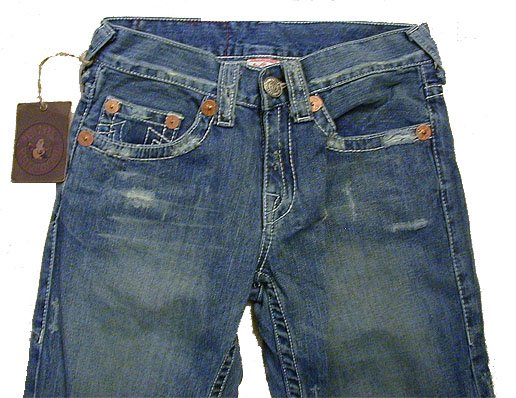 NWT True Religion Mens Bobby Clearwater Jeans Size 38