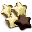 Gold Foiled Dark Chocolate STARS Bag of 34 Corporate Tradeshow Promotion Giveaways
