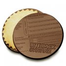 50 BITE BACK AT THE IRS Engraved Chocolate Covered Cookies Corporate Tradeshow Giveaways