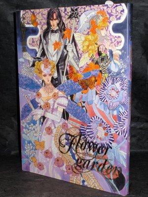 TOMOMI KOBAYASHI GASHU FLOWER GARDEN JAPAN ART BOOK NEW
