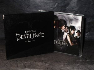 KENJI KAWAI DEATH NOTE MOVIE SOUNDTRACK MUSIC CD 1ST ED