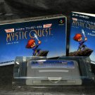 MYSTIC QUEST FINAL FANTASY USA SNES SUPER FAMICOM GAME