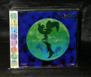 NiGHTS INTO DREAMS SOUNDTRACK SEGA GAME MUSIC CD