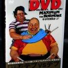 MAXIMUM THE HORMONE DEBU VS DEBU DVD JAPANESE ROCK NEW