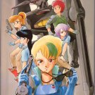 GALL FORCE ILLUSTRATIONS JAPAN MANGA ANIME ART BOOK