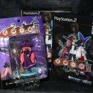 SHIKIGAMI NO SHIRO 2 PS2 LIMITED ED GAME and FIGURE