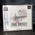 FINAL FANTASY II 2 PS1 PLAYSTATION SQUARESOFT GAME