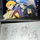 TOWARD THE TERRA JAPAN ANIME MANGA ART SKETCH BOOK NEW