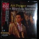 ART PEPPER MEETS RHYTHM SECTION CD MINI LP SLEEVE NEW