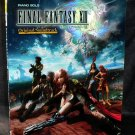 FINAL FANTASY XIII SOUNDTRACK BEST MUSIC SCORE BOOK NEW