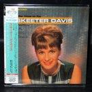 SKEETER DAVIS ALBUM CD MINI LP CARDBOARD PAPER SLEEVE