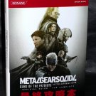 METAL GEAR SOLID 4 PS3 OFFICIAL COMPLET GUIDE GAME BOOK