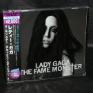 LADY GAGA FAME MONSTER DELUXE EDITION JAPAN CD AND DVD
