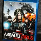 ASSAULT GIRLS BLU-RAY DVD ENGLISH MOVIE FILM JAPAN NEW