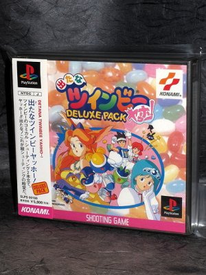 Detana Twinbee Yahoo Deluxe Pack PS1 JPN Shooting Game