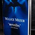 MALICE MIZER MERVEILLES JAPAN GOTHIC ROCK PHOTO BOOK