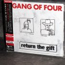 Gang Of Four RETURN GIFT JAPAN CD 2 BONUS TRACKS NEW