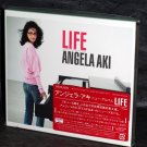 ANGELA AKI Life Japan MUSIC CD and DVD 2010 NEW