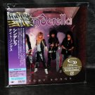 CINDERELLA NIGHT SONGS SHM CD MINI LP SLEEVE JAPAN NEW