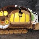 TOTORO Cat Bus Neko Soft Plushie Purse Wallet Japan NEW