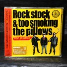 The Pillows Jpn Rock Stock Too Smoking CD Plus DVD NEW