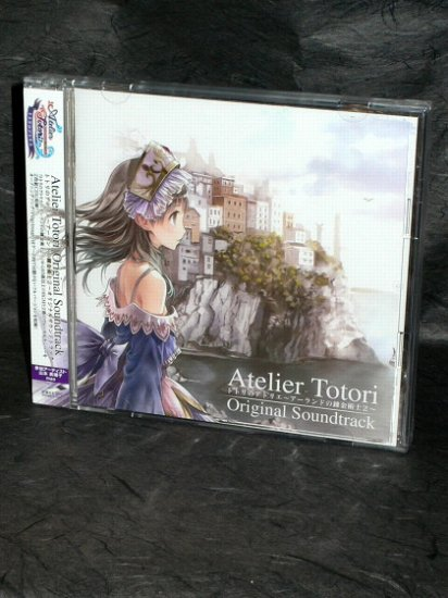 ATELIER TOTORI PS3 SOUNDTRACK JAPAN GAME MUSIC CD NEW