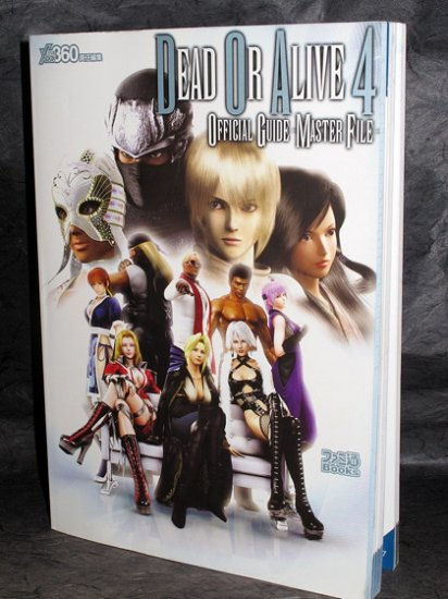 DEAD OR ALIVE 4 XBOX 360 GAME ART BOOK NEW JPN ORIGINAL