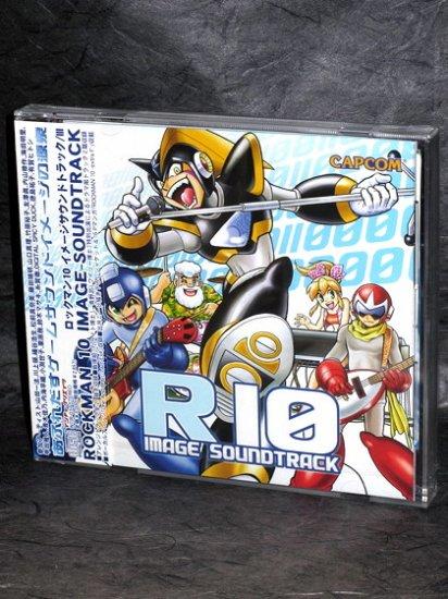Rockman 10 Image Soundtrack Capcom GAME MUSIC CD NEW