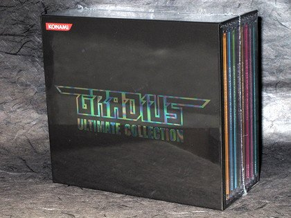 GRADIUS ULTIMATE COLLECTION GAME MUSIC 8 CD BOX SET NEW