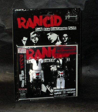 RANCID LET DOMINOES FALL BEARBRICK JAPAN CD LTD ED NEW