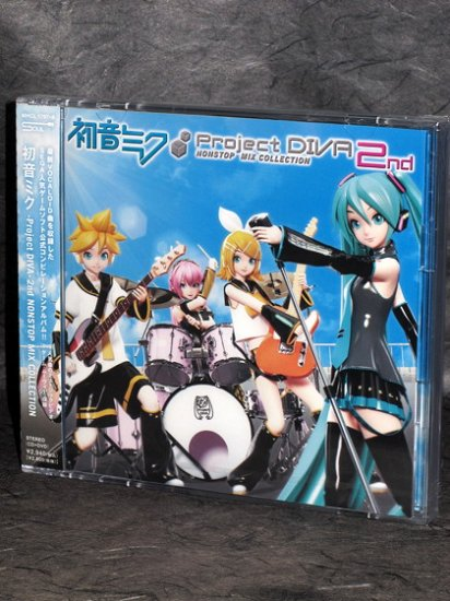 Miku Hatsune Project Diva 2nd NONSTOP MIX COLLECTION CD
