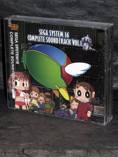 Fantasy Zone Quartet Alex Kidd Sega Game Music 3 CD NEW