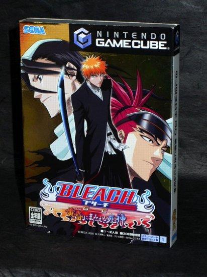 BLEACH GC TASOGARE JAPAN ANIME MANGA GAMECUBE GAME