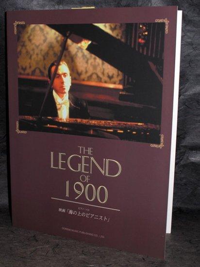 Ennio Morricone Legend of 1900 Piano Solo Music Score
