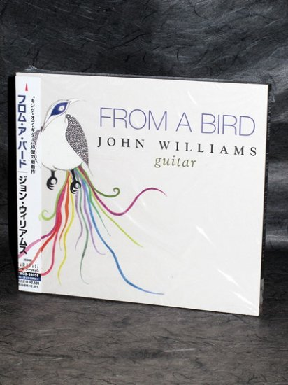 John Williams From a Bird JAPAN Edition Music CD NEW