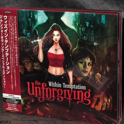 WITHIN TEMPTATION Unforgiving Japan Special Ed CD DVD