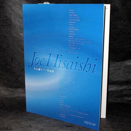 Joe Hisaishi Piano Works Solo Music Score Book NEW