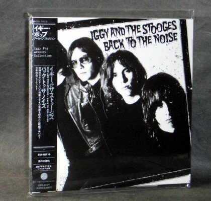 IGGY AND THE STOOGES BACK TO NOISE JAPAN MINI LP Sleeve POCE-1147~8 CD NEW